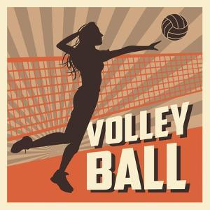 Volleyball Sport and Hobby Design by Jemastock