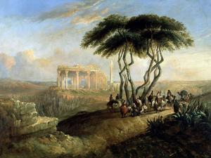 Paisaje Oriental Con Ruinas Clasicas, 1842 by Jenaro Perez Villaamil