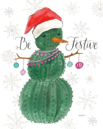 A Very Cactus Christmas I Be Festive by Jenaya Jackson