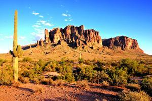 Arizona Desert Sunset by Jeni Foto