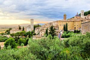 Assisi Sunset by Jeni Foto