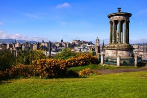 Edinburgh Cityscape by Jeni Foto