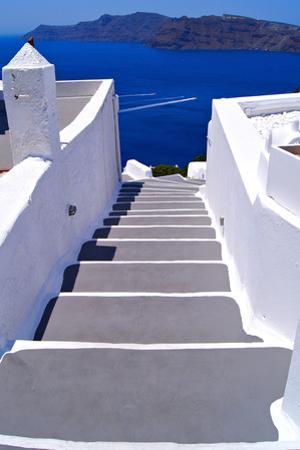 Greek Lane by Jeni Foto