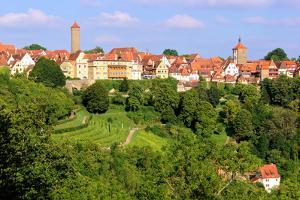 Rothenburg Ob Der Tauber, Germany by Jeni Foto