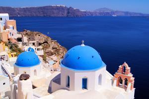 Santorini Scene by Jeni Foto