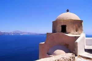 Santorini View by Jeni Foto