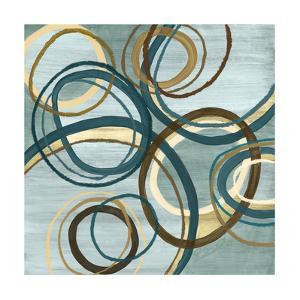 21 Blue Tuesday I Circles by Jeni Lee