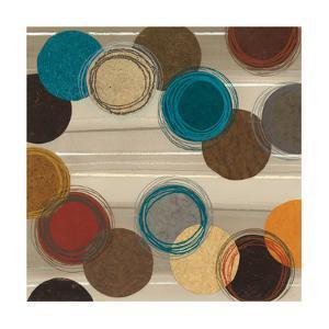 Autumn Circles I by Jeni Lee