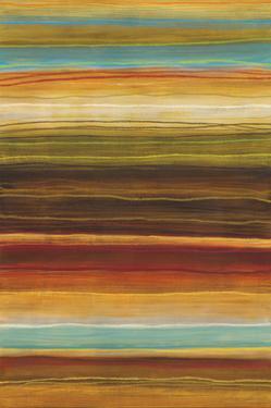 Organic Layers I - Stripes, Layers by Jeni Lee