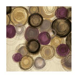 Purple Whimsy Sq I by Jeni Lee
