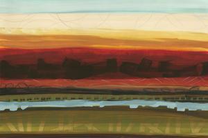 Skyline Symmetry II - Stripes, Layers by Jeni Lee
