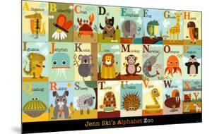 Alphabet Zoo by Jenn Ski