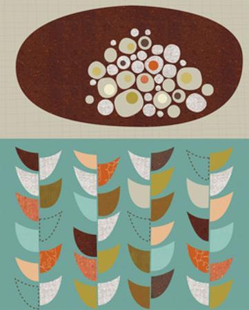 Petal Pods I by Jenn Ski