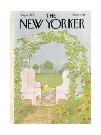 The New Yorker Cover - August 6, 1979