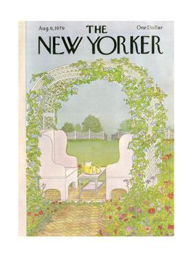 The New Yorker Cover - August 6, 1979 by Jenni Oliver