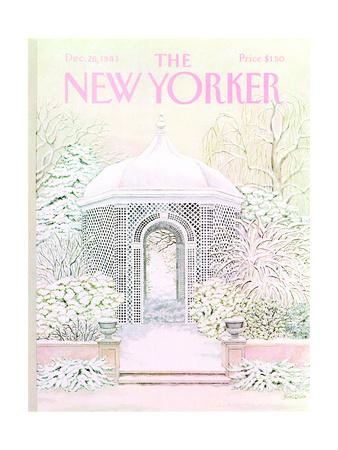 The New Yorker Cover - December 26, 1983