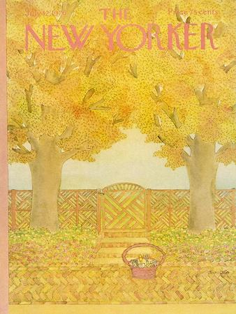 The New Yorker Cover - July 12, 1976