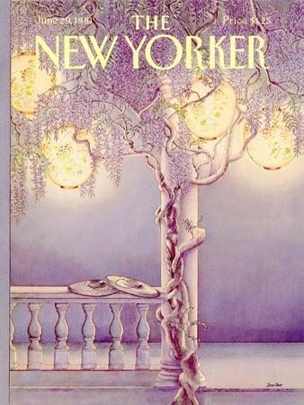 The New Yorker Cover - June 29, 1981