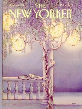 The New Yorker Cover - June 29, 1981 by Jenni Oliver