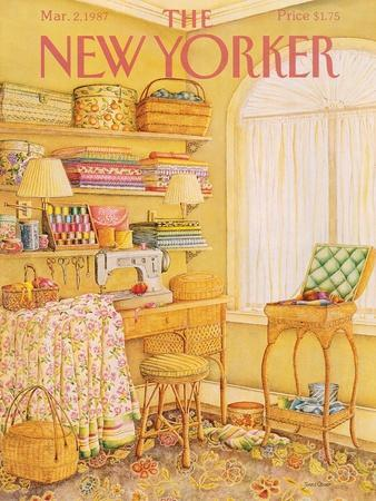 The New Yorker Cover - March 2, 1987