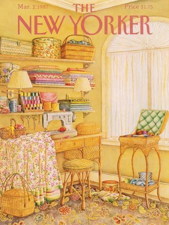 The New Yorker Cover - March 2, 1987 by Jenni Oliver