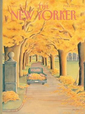 The New Yorker Cover - November 12, 1984 by Jenni Oliver