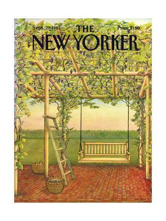 The New Yorker Cover - September 27, 1982
