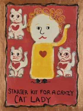 Cat Lady by Jennie Cooley