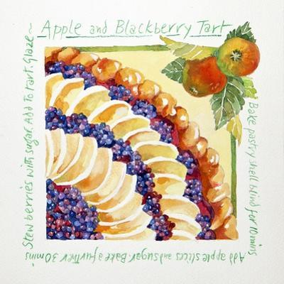 Apple Blackberry Tart, 2014 by Jennifer Abbott