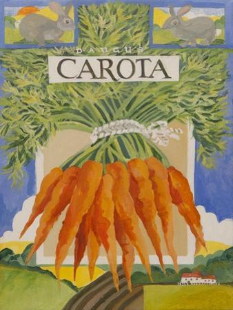 Carota, carrots by Jennifer Abbott