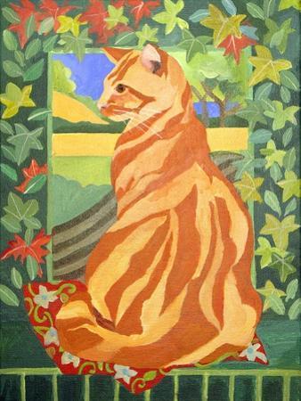 Cat 1, 2014 by Jennifer Abbott