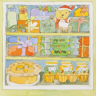 Christmas cupboard interior by Jennifer Abbott