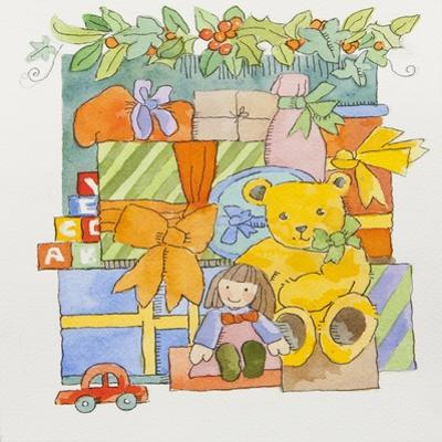 Christmas toys and gifts by Jennifer Abbott