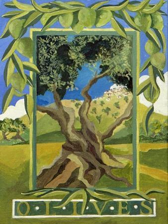 Green Olives, 2014 by Jennifer Abbott