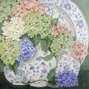 Hydrangeas by Jennifer Abbott
