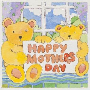 Mothers Day Bears by Jennifer Abbott
