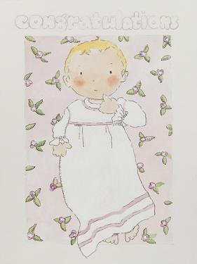 New baby girl by Jennifer Abbott