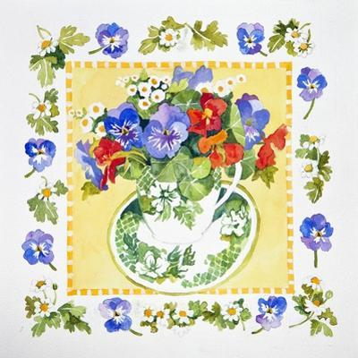 Pansies - Nasturtiums, 2013 by Jennifer Abbott
