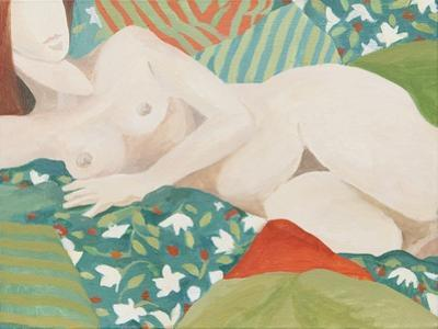 Reclining nude by Jennifer Abbott