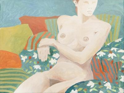 Seated nude by Jennifer Abbott