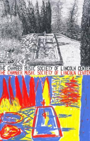 Chamber Music of Lincoln Center, 1981 by Jennifer Bartlett