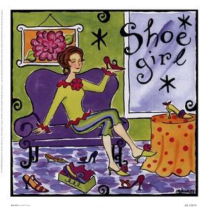 Shoe Girl by Jennifer Brinley