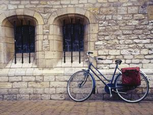 Holland, Goude, Bicycle Parked Beside Church by Jennifer Broadus