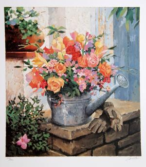 Untitled - Garden Bouquet by Jennifer Carlton