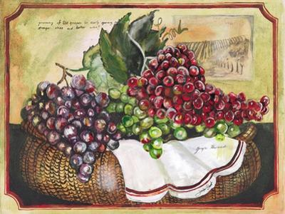 Basket of Grapes by Jennifer Garant