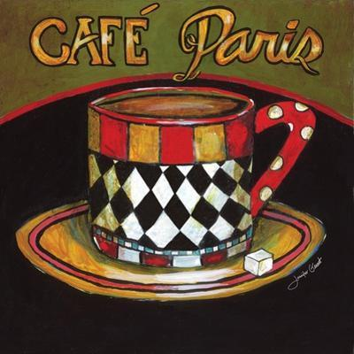 Cafe Paris by Jennifer Garant