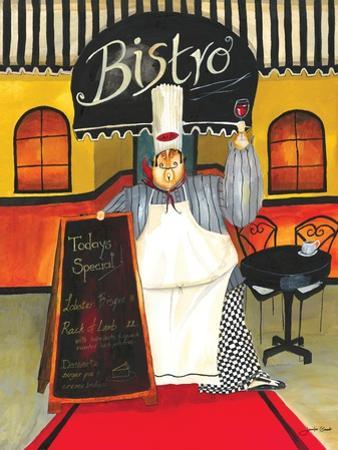 Chef at Bistro by Jennifer Garant