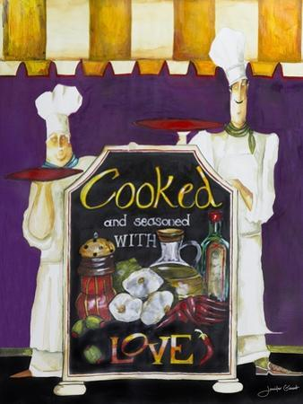 Cooked with Love by Jennifer Garant