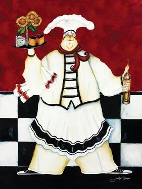 Crimson Chef I by Jennifer Garant