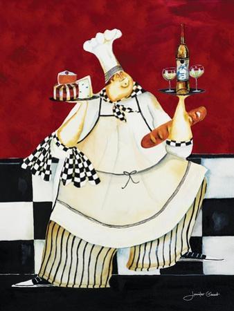 Crimson Chef II by Jennifer Garant